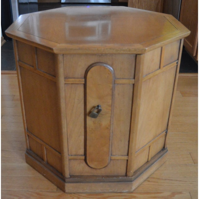 Drexel Heritage Drexel Heritage Meridian Octagon Side Table For Sale - Image 4 of 4