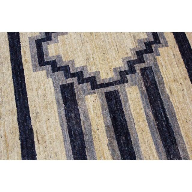 Handmade Navajo Design Rug For Sale In Los Angeles - Image 6 of 10