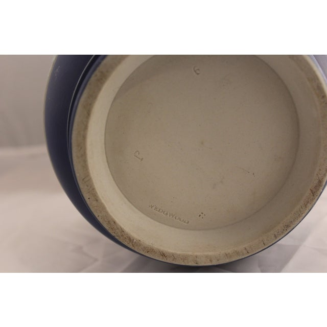 Large Antique Wedgwood Jasper Dip Cache Pot - Image 4 of 5