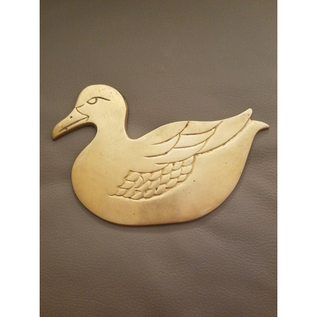I have a brass Duck trivet for sale! Brass has been recently polished and is in pretty good shape! Any questions, feel...