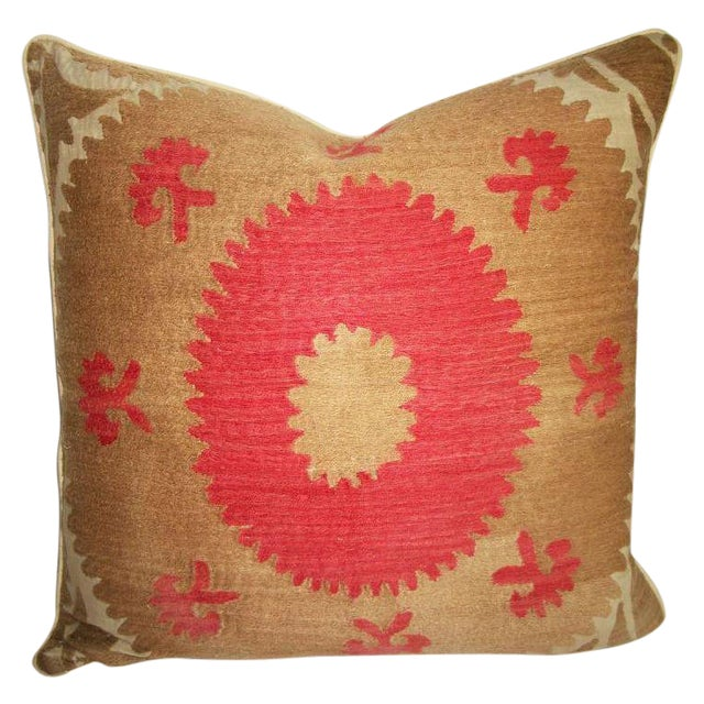 Vintage Suzani Bolinpush Accent Pillow III - Image 1 of 2