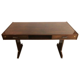 Georg Petersens Mid-Century Modern Rosewood Cantilever Writing Desk For Sale
