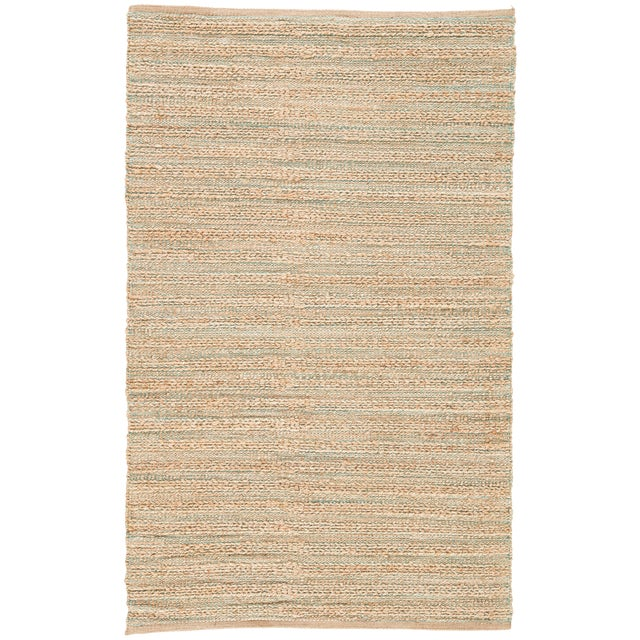 Jaipur Living Canterbury Natural Tan/ Green Area Rug - 9′ × 12′ For Sale