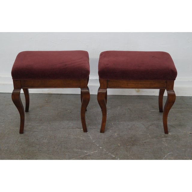 Fremarc Designs French Country Benches - Pair For Sale - Image 7 of 10