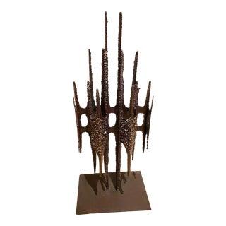 John De La Rosa Brutalist Sculpture For Sale