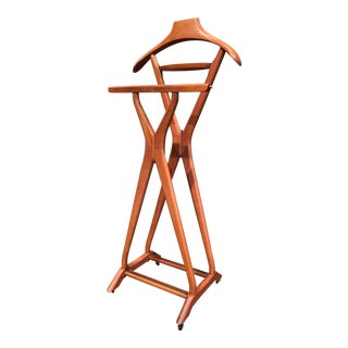 Midcentury Italian Maplewood Valet by Ico Parisi for Fratelli Reguitti For Sale