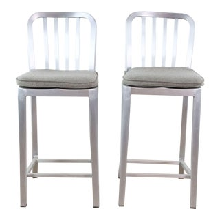 Crate & Barrel Counter Stools - Set of 2 For Sale