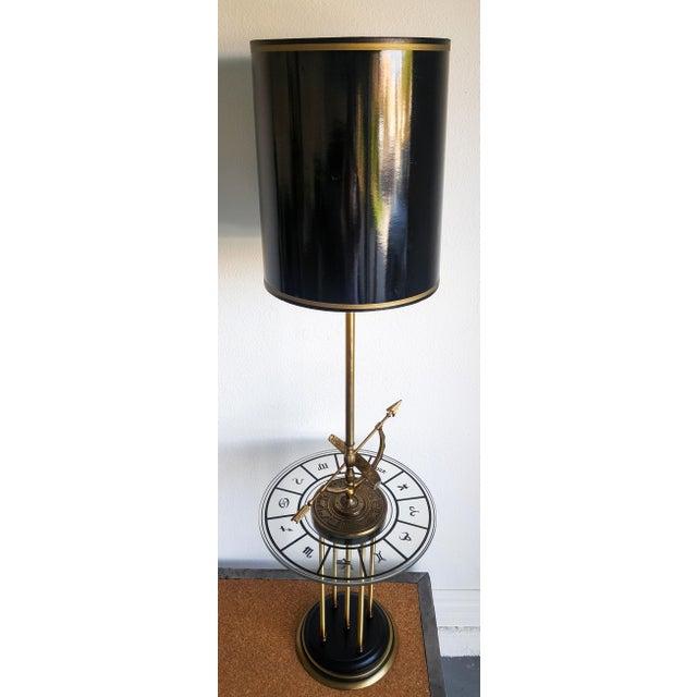 1960s Vintage Brass Armillary Astrological Floor Lamp - Image 3 of 6