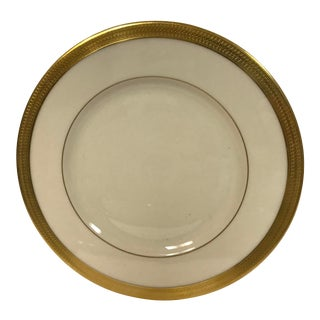 Lenox Lowell Gold Stamped Salad Plate For Sale