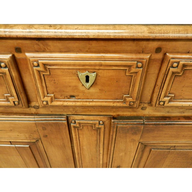 Early French Walnut 19th Century Directoire' Buffet For Sale In New Orleans - Image 6 of 11
