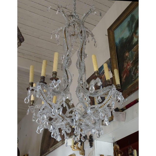 French Crystal Chandelier For Sale - Image 12 of 12