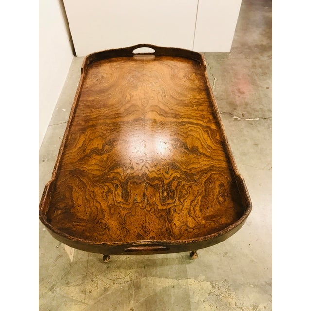 Campaign Campaign Tray Table For Sale - Image 3 of 8