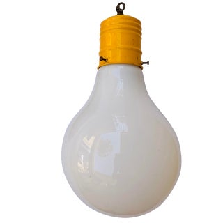 Pop Art Light Bulb Pendant Lamp by Ingo Maurer For Sale