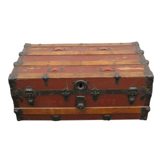Early 20th Century Trunk Storage For Sale