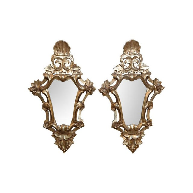Mid 19th Century 19th Century Italian Wall Mirrors - a Pair For Sale - Image 5 of 5