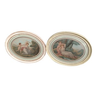 Antique Mythological Cupid Engravings - a Pair For Sale