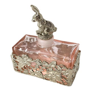 Perfume Bottle with Bunny Stopper