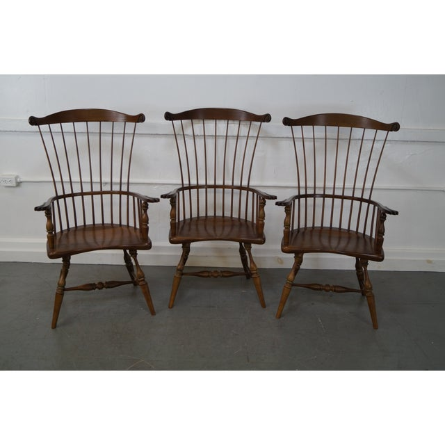 Frederick Duckloe & Bros Armchairs - Set of 6 - Image 3 of 8