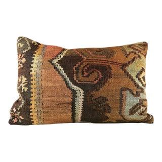 Turkish Tribal Vintage Kilim Pillow For Sale