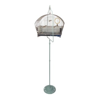 Tweety Bird Cage on Stand For Sale