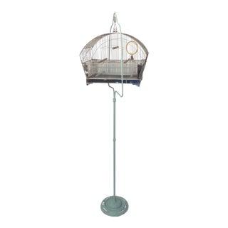 Tweety Bird Cage on Stand