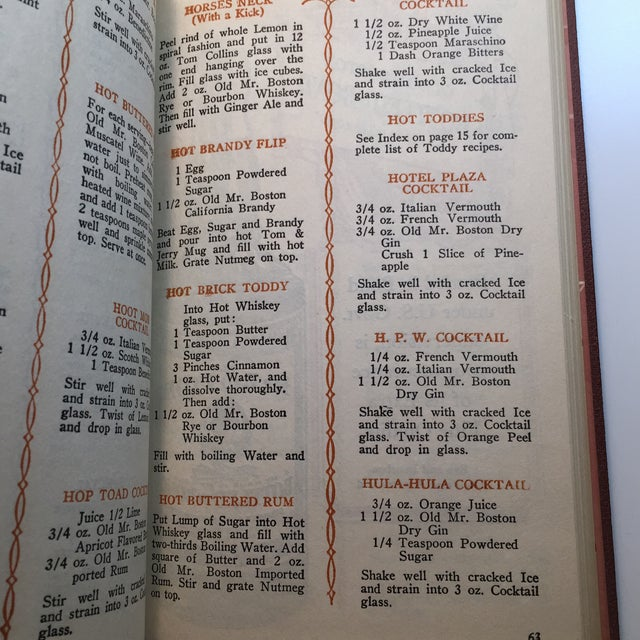 """Brown """"Old Mr. Boston Official Bartenders Guide"""" 1955 Book For Sale - Image 8 of 9"""