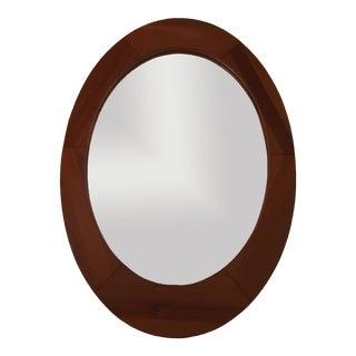 Pedersen & Hansen Danish Oval Wall Mirror For Sale