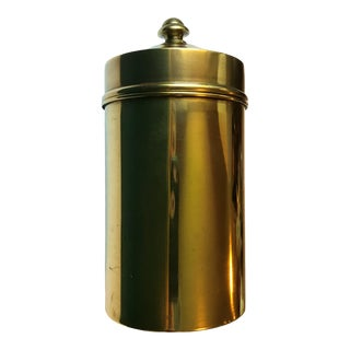 Brass Humidor by Bradley & Hubbard Manufacturing Company For Sale