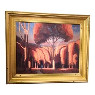 Modern Landscape Form Painting For Sale