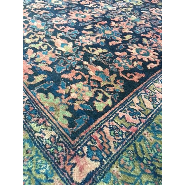 "Antique Persian Hamadan Rug - 5'4"" X 6' - Image 5 of 10"