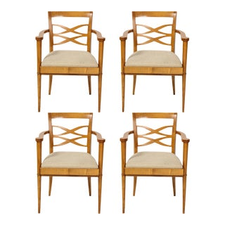 Batistin Spade Chairs - Set of 4 For Sale