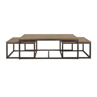 Arhaus Palmer Nesting Coffee Tables - 3 Piece Set For Sale