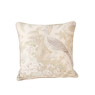 Schumacher Thicket Throw Pillow For Sale