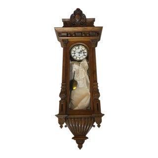German Dutch Regulator Wall Clock For Sale