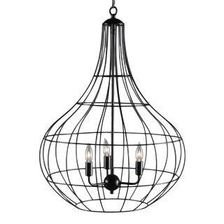 Iron Basket Drop Pendant For Sale