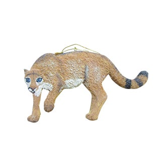 Cougar/ Puma Christmas Ornament or Wall Hanging For Sale