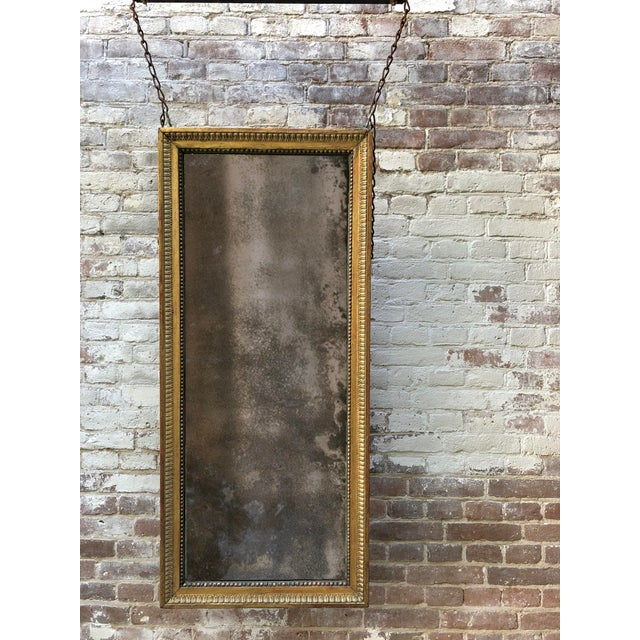 Giltwood 18th Century Pier Mirror For Sale - Image 7 of 8