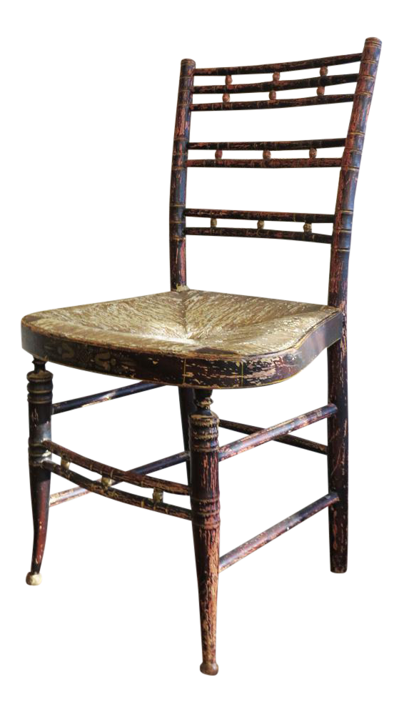 Antique Hitchcock Chair   Image 1 Of 4