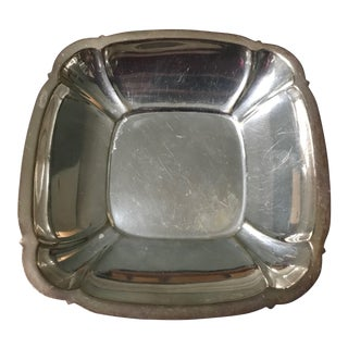 Reed & Barton Silverplate Square Platter For Sale