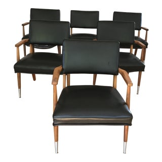 Set of 6 Mid-Century Occassional Chairs For Sale