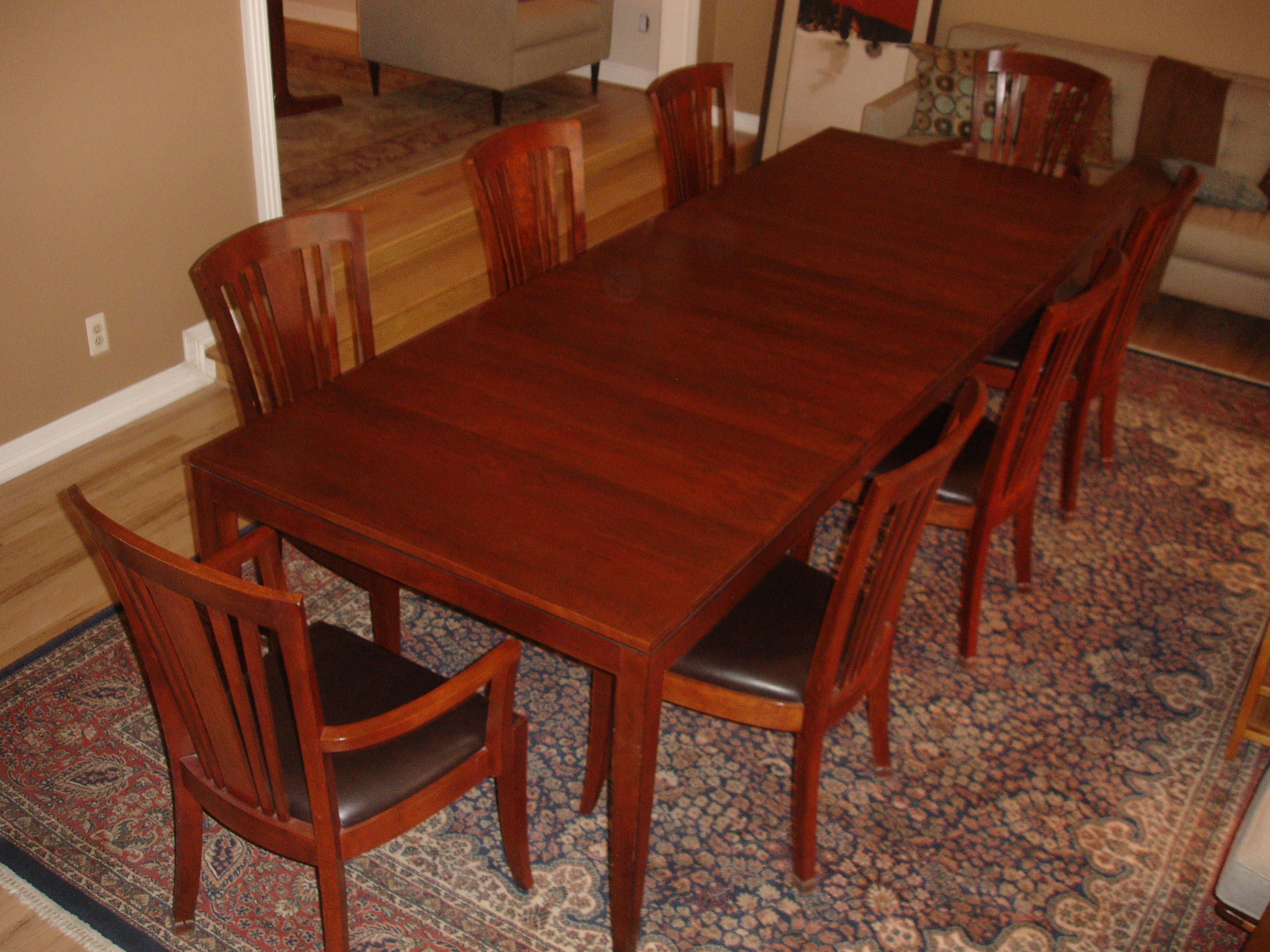 Genial Arts U0026 Crafts Stickley Metropolitan Dining Table U0026 Chairs For Sale   Image  ...