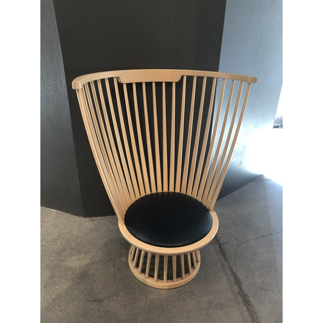 Tom Dixon Tom Dixon Fan Chair Natural For Sale - Image 4 of 12