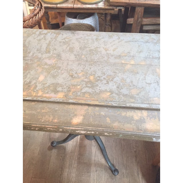 1910s 1910s Vintage Drafting Table For Sale - Image 5 of 6