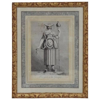 Pair of 18th Century Engravings by Petitot For Sale