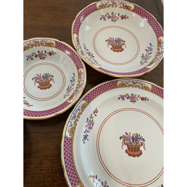 Spode China Lord Calvert Pattern Service for 8 Dinnerware - 60 Piece Set For Sale - Image 9 of 12