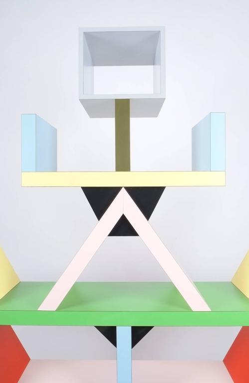 Superb Carlton Bookcase Roomdivider by Ettore Sottsass for Memphis