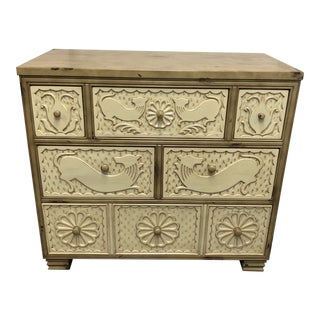 Hickory Chair Furniture Company Carved Chest For Sale