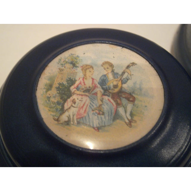 1940's Musical Powder Boxes - Image 4 of 8