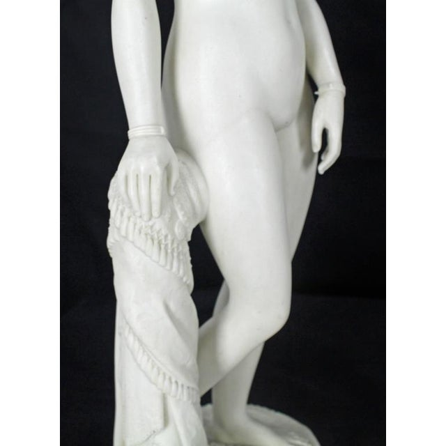 19th Century Fine Porcelain Nude Woman Figurine Tall, Dated 1853 For Sale In New York - Image 6 of 10