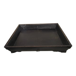 Square Elm Tray For Sale